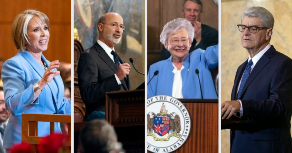 Governors Use 'State of the State' Address to Share Early